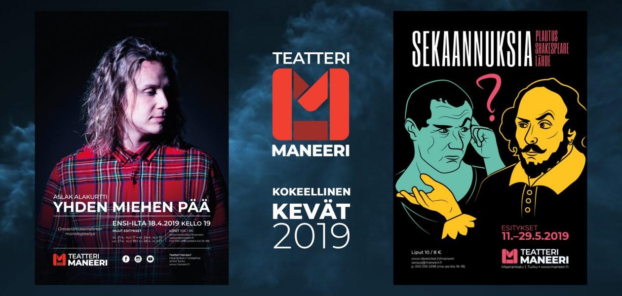 Teatteri Maneeri, Kokeellinen kevät 2019