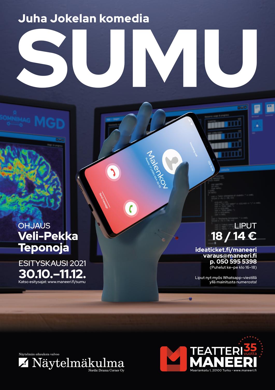 Pikkujoulut 2021: Juha Jokela, Sumu
